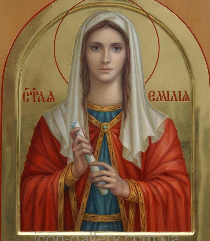 Икона Святой Эмилии 2