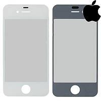 Защитное стекло корпуса для iPhone 4, белое, оригинал