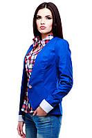 Женский пиджак синего цвета Nui Very (нью вери)  Инга  по низким ценам