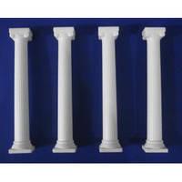 Пластиковые колонны в классическом стиле 17 см