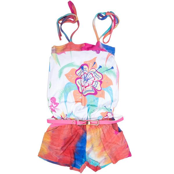 Модный детский комбинезон-шорты