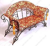 "Кованый диван ""Полонез"""