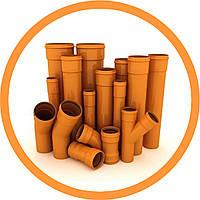 Труба наружная канализационная ПВХ Plastimex DN 3,2*110*2000