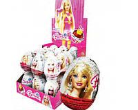 Яйцо шоколадное Барби 24 шт, 25 гр
