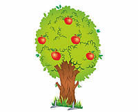 Декорація для спектакля: Яблуня та груша