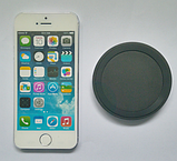 Бездротове зарядний пристрій QI 5 Black, фото 4