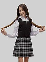 Сарафан школьный для девочки М-929 рост 158.Последний размер на складе!, фото 1