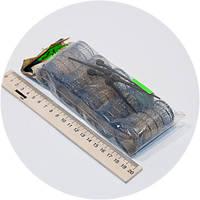 Бигуди с ершиком 4шт/уп, 65мм, 32мм., фото 1