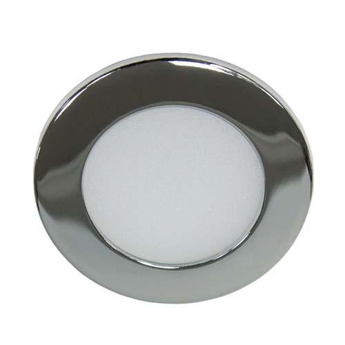 Светодиодный светильник, круг, 6W Хром