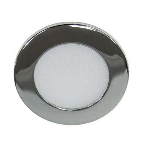 Светодиодный светильник, круг, 6W Хром, фото 2