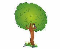 """Декорация """"Дерево летнее, осеннее, зимнее"""""""