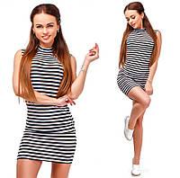 Платье- американка полосатое 19- 120