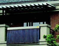 Сонячний комплект для квартири 150 літрів + доповнення до ЦО! (балконне розміщення)