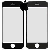 Защитное стекло корпуса для iPhone 5, черное, оригинал