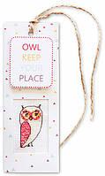 "Набор для вышивания крестом ""Luca-s"" N50 Owl keep your place"