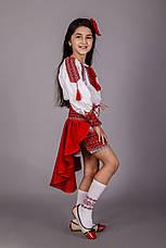 Вышитый костюм для девочки, фото 2