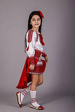 Вышитый костюм для девочки, фото 3