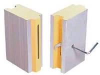Сэндвич-панели для холодильных и морозильных камер c встроенными эксцентриковыми замками