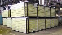 Строительные сендвич панели стеновые и кровельные ( ППУ, ППС, Мин. вата)