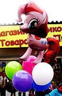 Букет-фонтан из шариков Пони на День рождения