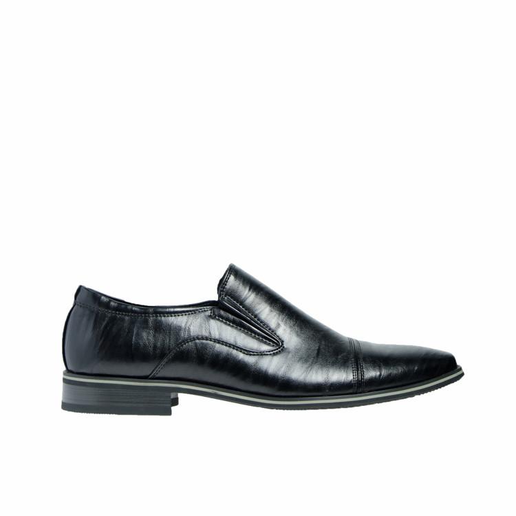 Туфли мужские классические весна осень черные искусственная кожа