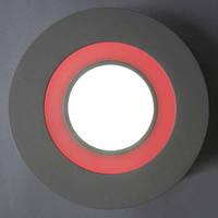 Светодиодный светильник, круг, 16W с красной подсветкой