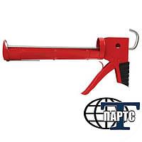 Пистолет для выдавливания силикона рамообразный  INTERTOOL