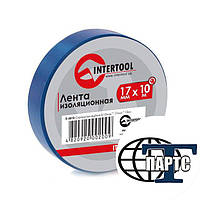 Изолента синяя L=25м INTERTOOL