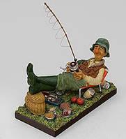 Коллекционная статуэтка Рыбак Forchino, ручная работа FO 85503