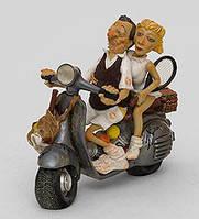 Коллекционная статуэтка Скутер Forchino, ручная работа FO 85047