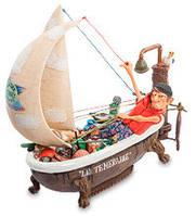 """Коллекционная статуэтка Яхта """"Вокруг света"""" Forchino, ручная работа FO 85077"""