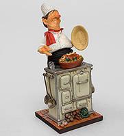 Коллекционная статуэтка Шеф-повар Forchino, ручная работа FO 85524