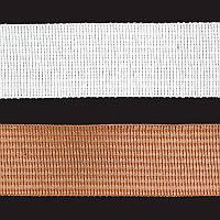 Тесьма окантовочная 18мм белый