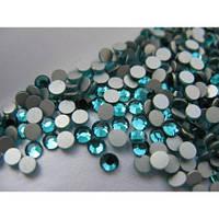 Стразы Asfour Almass ss12 Blue Zircon (3.0-3.2мм) 100шт