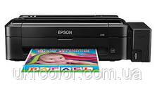 Струйный принтер Epson L110 со встроенным оригинальным СНПЧ + 4х100 мл сублимационные чернила InkTec