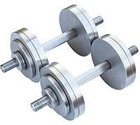 Гантели наборные 2*14 кг (Общий вес 28 кг) Металл