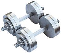 Гантели наборные 2*18 кг (Общий вес 36 кг) Металл, фото 1