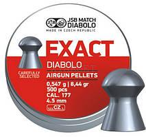 Пульки JSB Diabolo Exact 4.51мм, 0.547г (500шт)