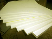 Плиты из пенополиуретана,  плотность 40-45кг/м3, толщина 100мм, размер плиты 1250*600мм, фото 1