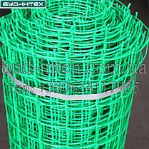 Сетка пластиковая садовая рулон 1*20 м (50*50мм), фото 3