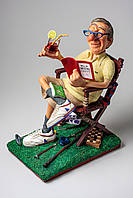 Коллекционная статуэтка Пенсионер Forchino, ручная работа FO-85540
