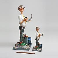 Коллекционная статуэтка Программист Forchino, ручная работа
