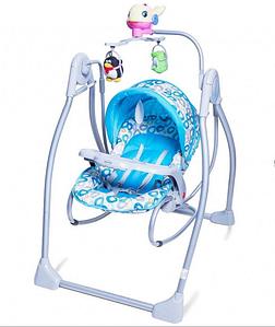 Кресло-качалка BT-SC-0003 BLUE  . Колыбель-качели