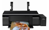 Струйный принтер Epson L805 со встроенным оригинальным СНПЧ + 6х100 мл сублимационные чернила
