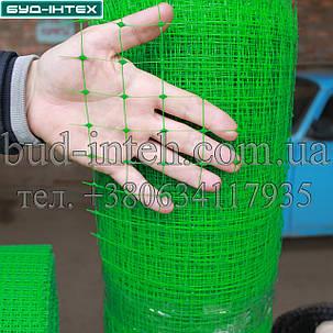 Сетка пластиковая садовая 1*50 м (30*35мм), фото 2