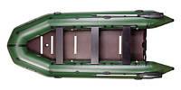 Лодка надувная моторная килевая восьмиместная Bark BT-420S