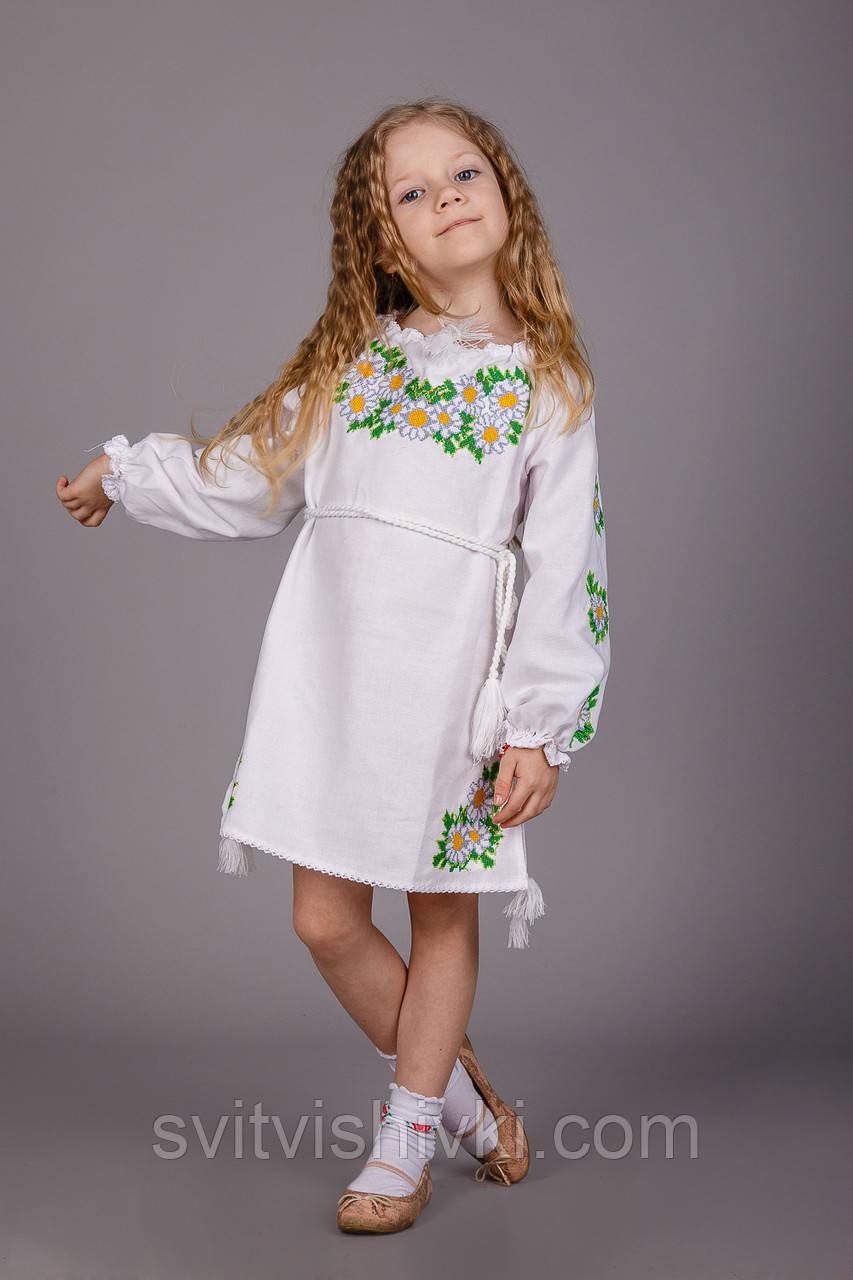 Платья для девочки с вышивкой