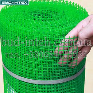 Сетка пластиковая садовая рулон 1*20 м (10*10мм), фото 2