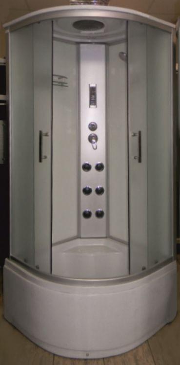 Гидромассажный бокс Atlantis AKL 50P XL 90x90 с высоким поддоном