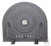 Дверка чугунная Pizza 5 Т с термометром